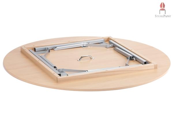 x tra rund 130 cm ma e 150 cm runde tische direkt ab fabrik versand. Black Bedroom Furniture Sets. Home Design Ideas